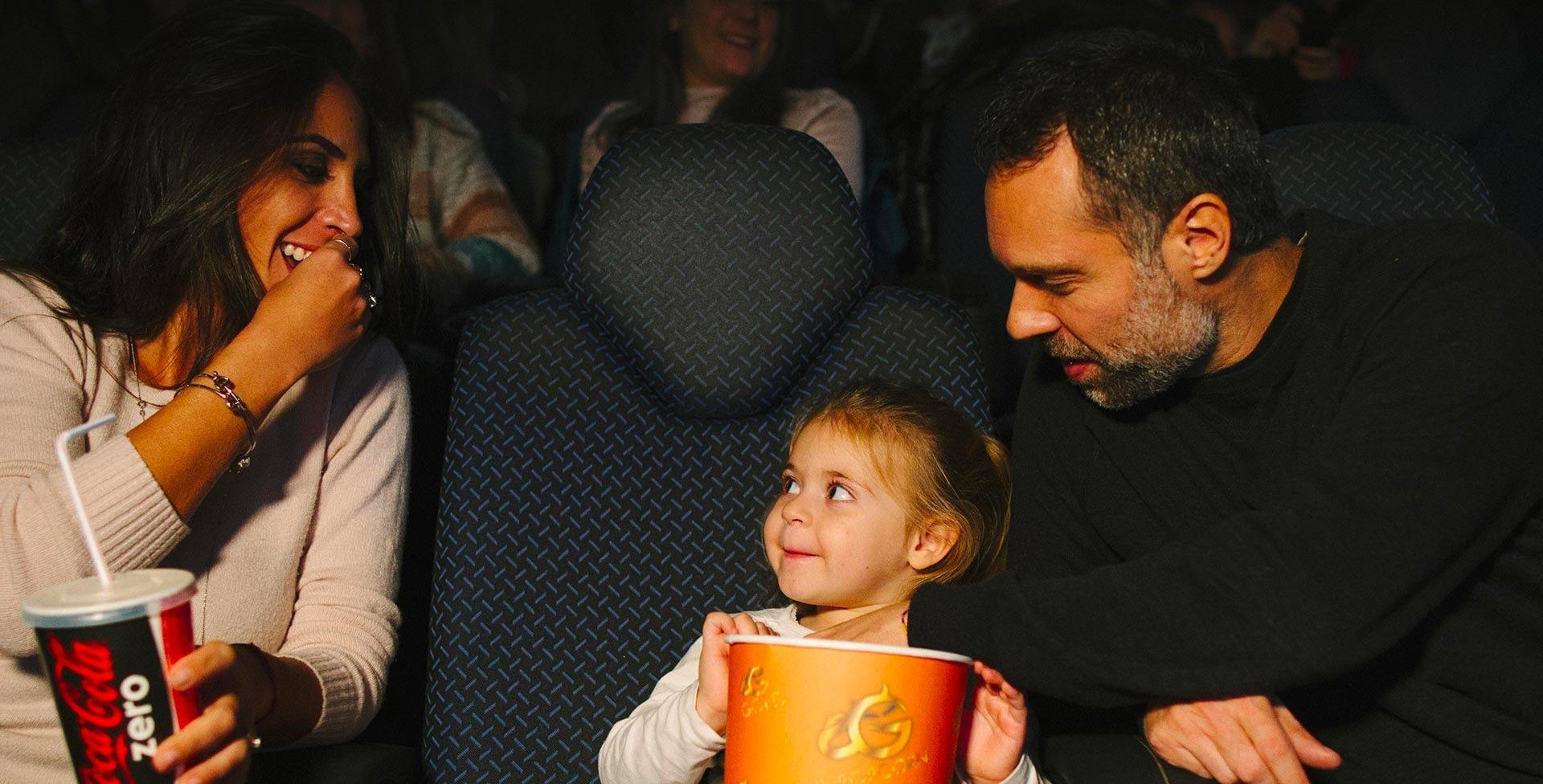 12 sale con 2.500 posti a sedere per il divertimento di tutta la famiglia