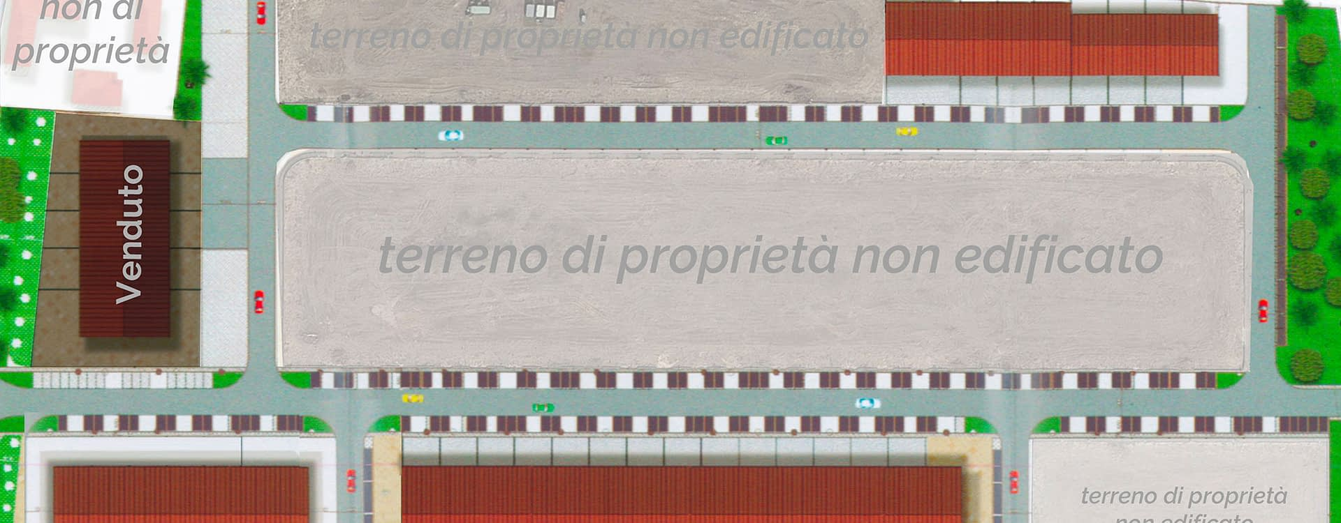 Comprensorio artigianale 7 Industriale di Lugo di romanga - Planimetria