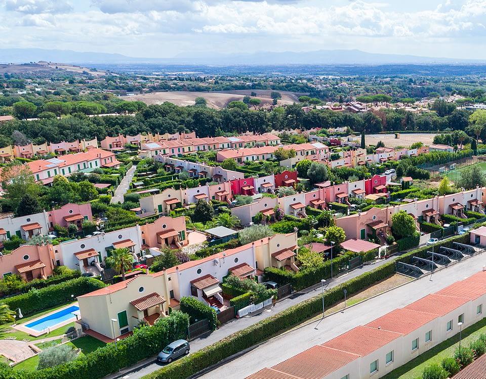 Centro residenziale Casal dei Pini - Le Rughe Formello