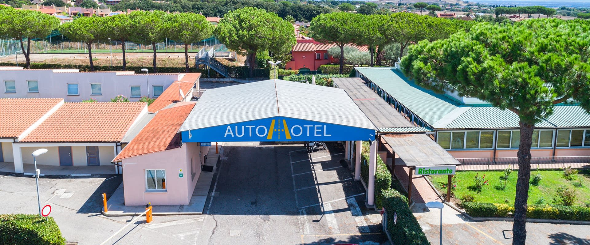Autohotel Roma Ingresso