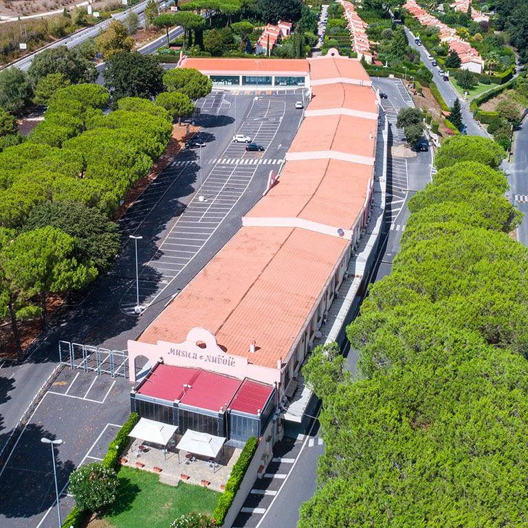 Centro Commerciale Le Rughe - Formello (RM) - Panoramica